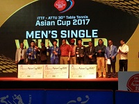 30th Table Tennis Asian Cup 2017